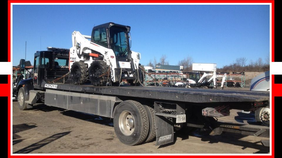 Powers Transport Inc. - bobcat transport