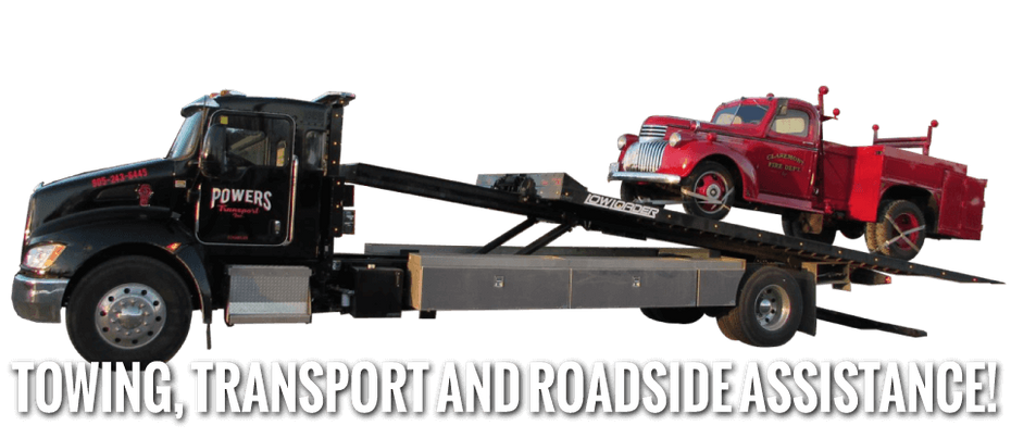 Towing, Transport, and Roadside Service - firetruck