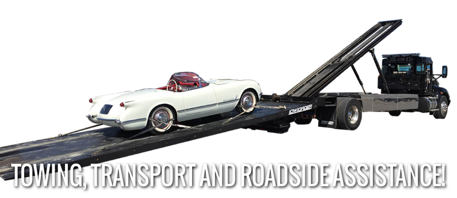 Towing, Transport, and Roadside Service - 'Vette