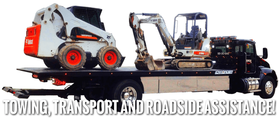Towing, Transport, and Roadside Service - machinery